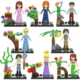 Wholesale SY156 Building Blocks Princess Girl Friends Minifigures Stephanie Mia Emma Olivia Andrea Toys No Original Box