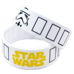 Wholesale Shipping New Arrival Star Wars Stormtrooper Mask Silicon Wristband Perfect To Use In Any Benefits Gift For Gamer