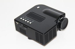 Good quality Mini projector UC28+ LED Mini Portable Home Theater Video Projector PC&Laptop VGA USB SD AV with retail package 1pcs