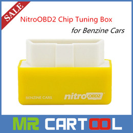 Wholesale 2015 Newly Plug And Drive NitroOBD2 Performance Chip Tuning Box better than elm327 For Benzine Cars