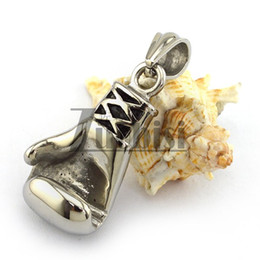 Newest High Quality Casting Boxing Glove Pendant in Stainless Steel Cheap Trendy of Men Boy Great Gifts
