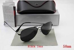 High Quality 2015 new Men's Women's Unisex Designer Sunglasses Iridium Gradient Lens Glasses 58mm size With Box Case