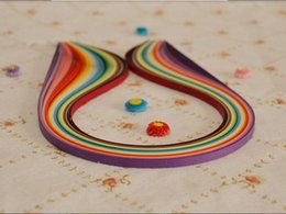 Wholesale 160pcs mm Width X cm Length Mixed colors DIY Scrapbooking Paper Quilling Material Cards Decoration AE02763 order lt no track