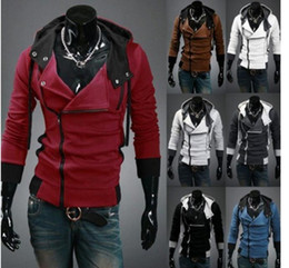 2018 NEW Assassin's Creed Desmond Style Velour Hoodie