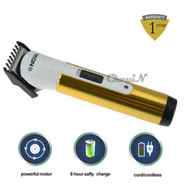Wholesale Electric Hair Clipper Professional Rechargeable Titanium Hair Trimmer for Child Kids Baby Men Beard Hair Clippers Hair Trimmer RCS45G Z32