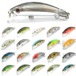 Wholesale Fishing Lure Body Minnow Crankbait Hard Bait Fresh Water Crappie Minnow Fishing Tackle M219