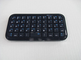 Wholesale Wireless Bluetooth Mini Ultra Slim Keyboard Pad for Tablets PS3 Apple TV PC New