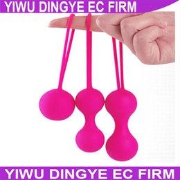 Wholesale Sex Trainer For Virgin Women - Wholesale-3pcs set Vagina Ball ,Vagina Exerciser Kegal Ball ,Smart Love Ball, Virgin Trainer, Sex Product For Women