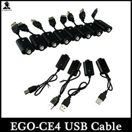EGO CE4 USB Battery Charger Cable For EGo E Cigs Electronic Cigarette EGo USB Chargers For EGO Battery