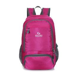 New Fashion Unisex Nylon Foldable Backpack Girl Sport Backpack Climbing Traveling Casual Waterproof Backpack Hiking Skin Bag