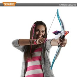 Wholesale Fashion authentic hasbro toy Nerf Rebelle Guardian Crossbow Target Set New in Box as