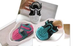 2015 baby boy first walker 100% Pure Handmade New design handmade crocheted baby shoes Infant First Walkers shoes Toddler shoes