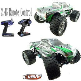 Wholesale Newest HSP Rc Truck Scale Models Nitro Gas Power Off Road Truck wd Hobby Remote Control Car