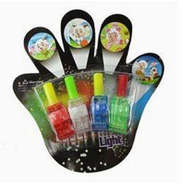 Promotion laser conduit doigts Cadeaux de Noël Laser Fingers faisceaux Party Flash Toys Lumières LED sans projection par Free Postage