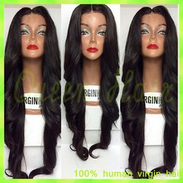 Fashion Loose Wave Full Lace Wigs Brazilian Virgin Human Hair Glueless Full Lace Human Hair Wigs With Baby Hair For Black Women