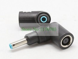 50 pcs DC 7.4x5.0 mm Female To 4.5x3.0 mm Male Power Bend Connector For Dell HP Laptop 19.5 V