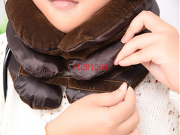 Wholesale Fedex DHL Air Cervical Neck Traction Soft Brace Device Unit Package By OPP bag