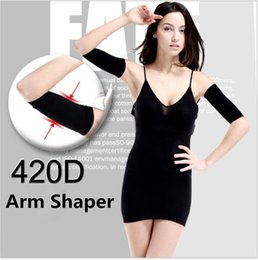 2015 Hot Sale Thin Arm Forearms Hands Shaper Burn Fat Belt Compression Arm Slimming Warmer 420 D