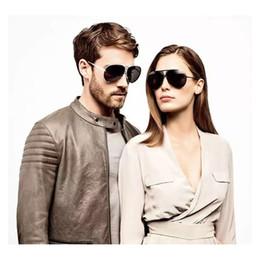 Wholesale-Men Sunglasses Interchangeable Lens P8478 Silver Black Gold Lens