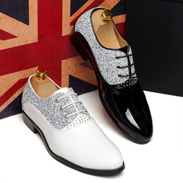 Wholesale New Arrivals Colors Men Shoes Groom Wedding Shoes Fashion Leisure Men s Prom Shoes Casual Shoe Wedding Dress Shoes Business Shoes