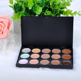 15Colour Pro Sheer Concealer Camouflage Palette Face Cream makeup Eyeshadow Bronzer kit set ZMPJ034#S2