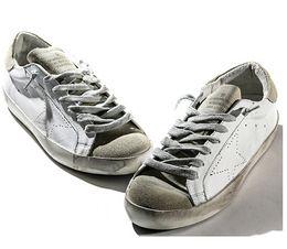 Wholesale New Golden Goose GGDB white New York Sneaker Worn Men Women Low Cut Shoes Sneakers g22d121