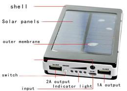 горячий 30000mAh Солнечное зарядное устройство батареи панели солнечных батарей и портативный банк питания для сотового телефона для ноутбука камеры MP4 с фонариком водонепроницаемом от Поставщики портативное зарядное устройство панель солнечной батареи