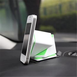 Promotion chargeur lumia Magic Cube Voiture Chargeur sans fil Qi Titulaire chaude de l'émetteur de charge pour Nokia Lumia 920 Nexus 7/5/4 Samsung Note 2/3 S3 / 4 Blanc Noir K1142