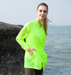 Wholesale-Tectop Summer Anti-uv Waterproof Ultra-light Women Coat Travelling Easy Carrying Jackets Female