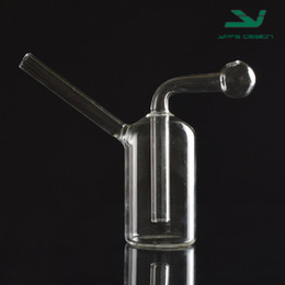 Popular Mini Glass Oil Burner Water Bong for Oil Rigs Water Bongs small oil burner water pipe dab rig bong Ash Catcher Hookah Pipe Smoking