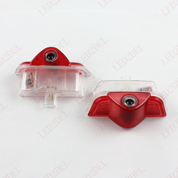 No Drill LED Ghost Shadow Projector Laser Courtesy Logo Light For Mercedes Benz C-Class W204 c260 c300 c200 c280 c230