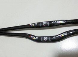 Carbon Handlebar 3K mountain bike handlebars carbon 31.8*620 640 660 680 700mm free shipping