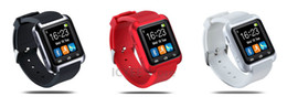 Wholesale Factory retail Bluetooth Smartwatch WristWatch U watch U8 smart watch Altimeter for iPhone Samsung HTC Android Phone only one watch