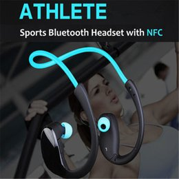 Wholesale Athlete NFC Bluetooth wireless Earphone Stereo Headset Gym headphone sport
