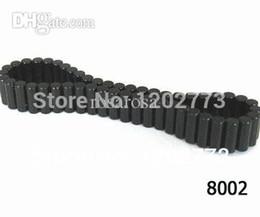 Promotion aimant néodyme forte Gros-Top Qualité Noir Expoy aimant cylindrique 5x12mm néodyme forte magnétique 1pc Bracelet guérison pour Sport Livraison gratuite