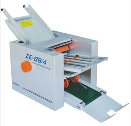 Wholesale Brand New Automatic Paper folding machine Paper Folder Machine ZE B Fold plate