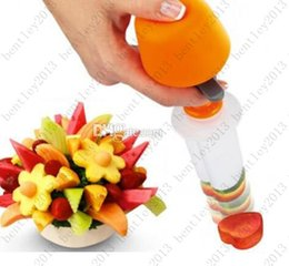 Wholesale Fruit Salad Carving Vegetable Fruit Arrangements Smoothie Cake Tools Kitchen Dining Bar Cooking Accessories Supplies Products