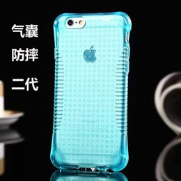 Wholesale 2016 newest Luxury package Nano transparent antislip explosion proof TPU phone protector case for iPhone s Plus