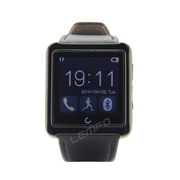 Wholesale Bluetooth U10 Smart Bracelet Sync Wrist LED Digital Watch with Vibrate can answer phone for iphone plus LG Samsung Smart phone