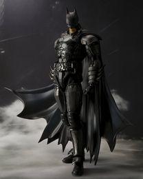 Wholesale Anime Figurine Superhero SHF Figuarts Batman INJUSTICE ver PVC Action Figure Model Toy cm