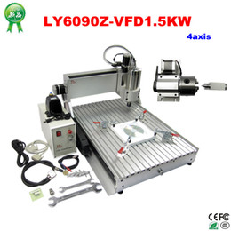 Wholesale axis kw cnc router Engraver Engraving Drilling and Milling Machine for assembled