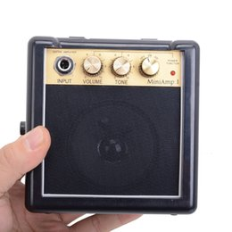 New Daphon Mini AMP1 3W Electric Gutiar AMP Portable with Belt Clip Free shipping MU0480