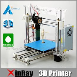 Wholesale Newest Aurora Injection Molding Reprap Prusa i3 D Printer Machine D Print Easy Installation DIY KIT High Quality Acrylic Z605