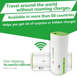 Wholesale Free Roaming G Hotspot global coverage GlocalMe G1 Glocalme mini wifi device for International travel support local connection Hot