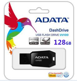 Wholesale ADATA DashDrive UV100 GB GB GB GB GB GB GB GB USB Flash Memory Pen Drive Sticks