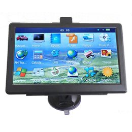"New HD 7"" Car GPS Navigator Bluetooth Truck Navigation 800*480 MP4 FM Transmitter 800MHZ 4GB IGO Primo 3D Maps"