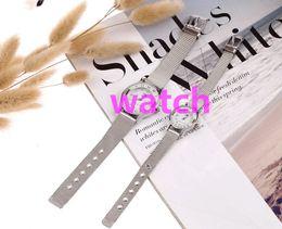 Wholesale Tommy Fashion Watch Wire Mesh Belt Men Women Luxury Business Wrist Watch Quartz For Men Ladies Diamond Metal Gold Mesh Belt Watch
