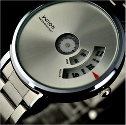 Wholesale New Arrival wrist watch Original Veyron Wilon fashion genuine steel strip Turntable Dial quartz watch dizzy mens watches relogio masculino