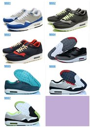 2016 Shoes Run Air Max Free Air Shipping 2016 High Quality New 87 Mens Brand Maxes Retro Classic Running Shoes Athletic Sport Shoes Light Outdoor Cushion Trainers budget Shoes Run Air Max