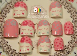 Wholesale Shy baby milk with a short paragraph Manicure patch on the fake products